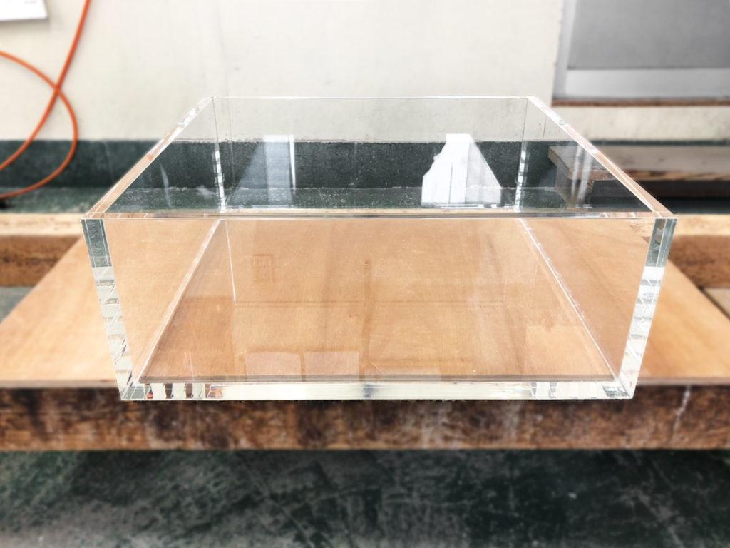 【オーダーメイドアクリル水槽】水漏れ防止水槽